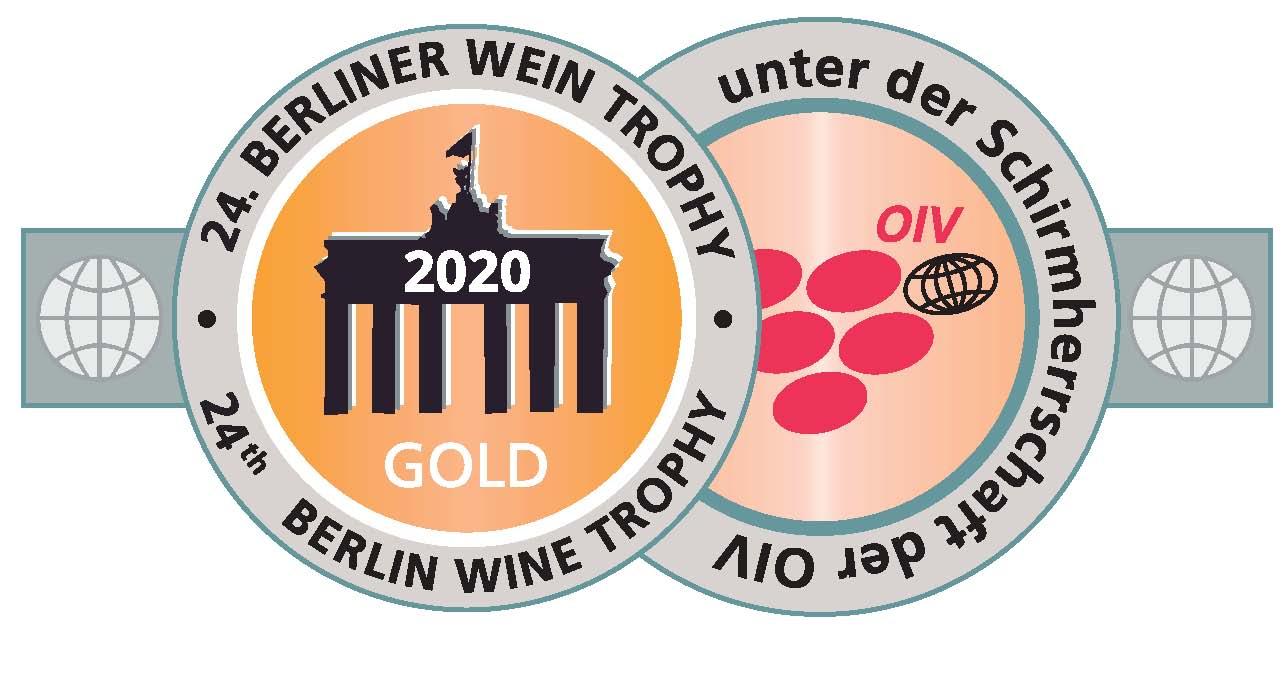 April 2020: Berliner Gold bei der Berliner Wine Trophy für Jahrgang 2017