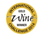 """Mai 2014: Goldmedaille bei der """"International Wine Challenge"""" (IWC) in London für Jahrgang 2012"""