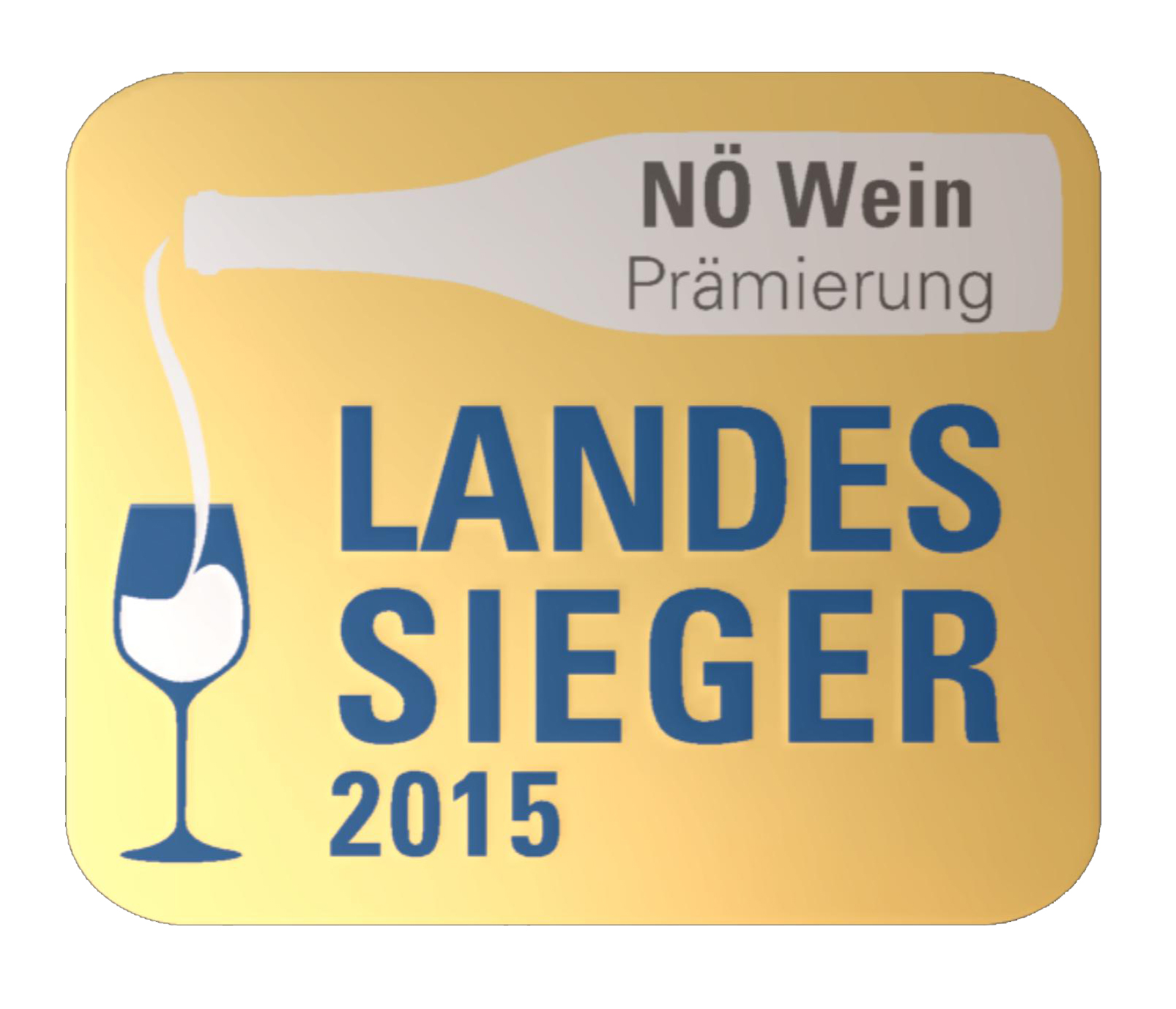June 2015: Vintage 2014 is the Wine Champion of Lower Austria!