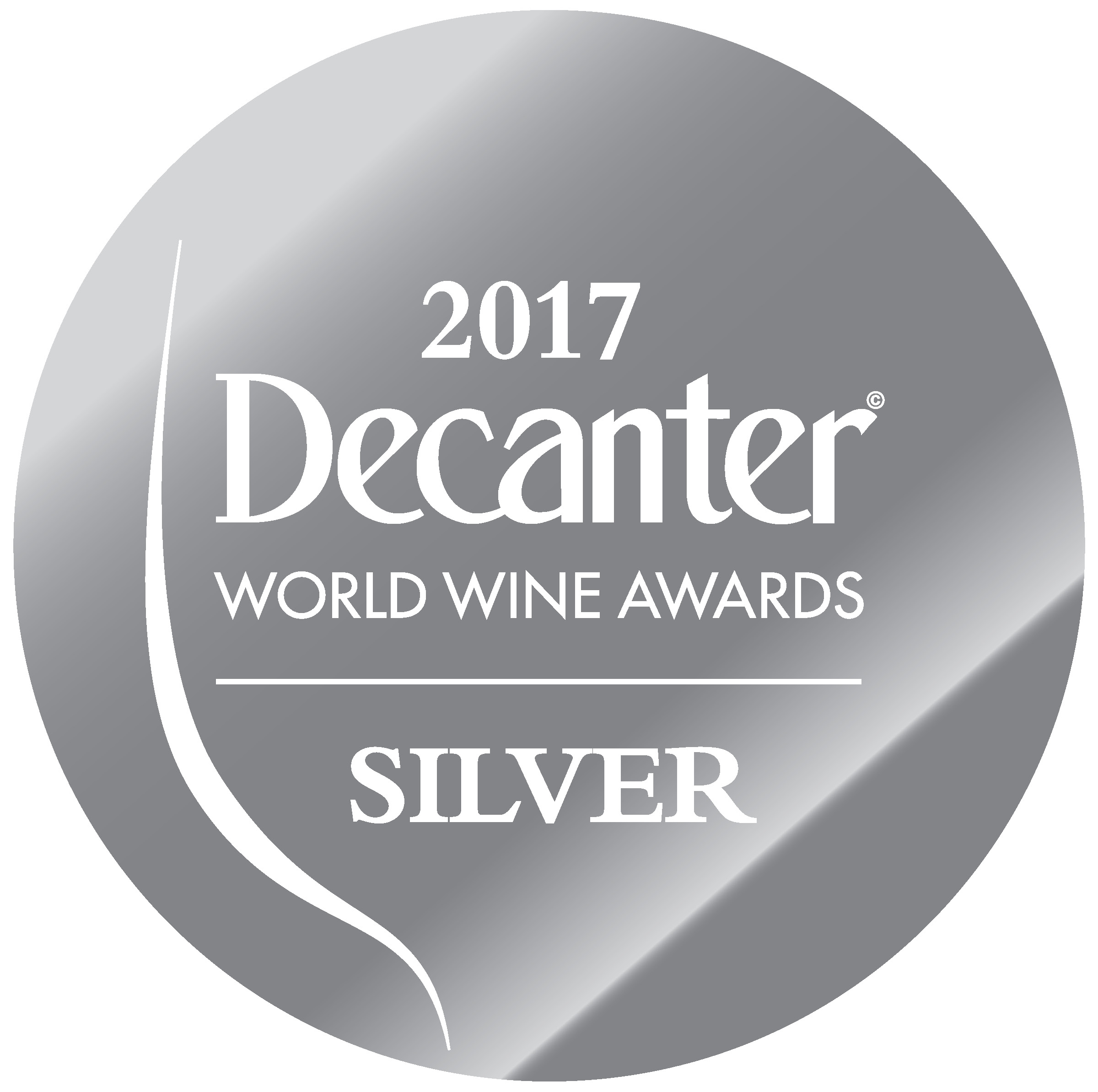May 2017: 90 points & silver medal DECANTER WORLD WINE AWARDS for vintage 2015