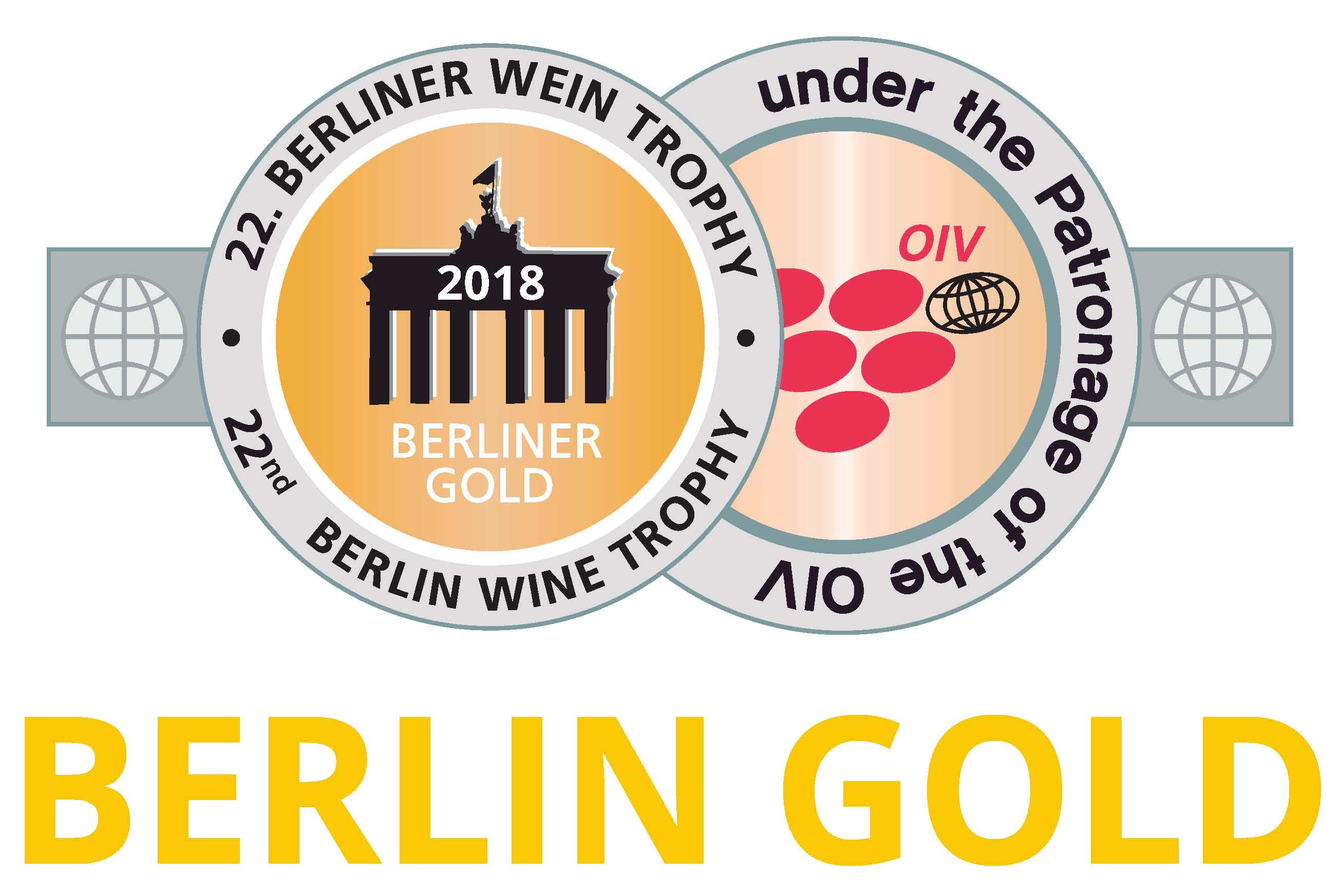 August 2018: Berliner Gold at the Berliner wine trophy 2018 for vintage 2017