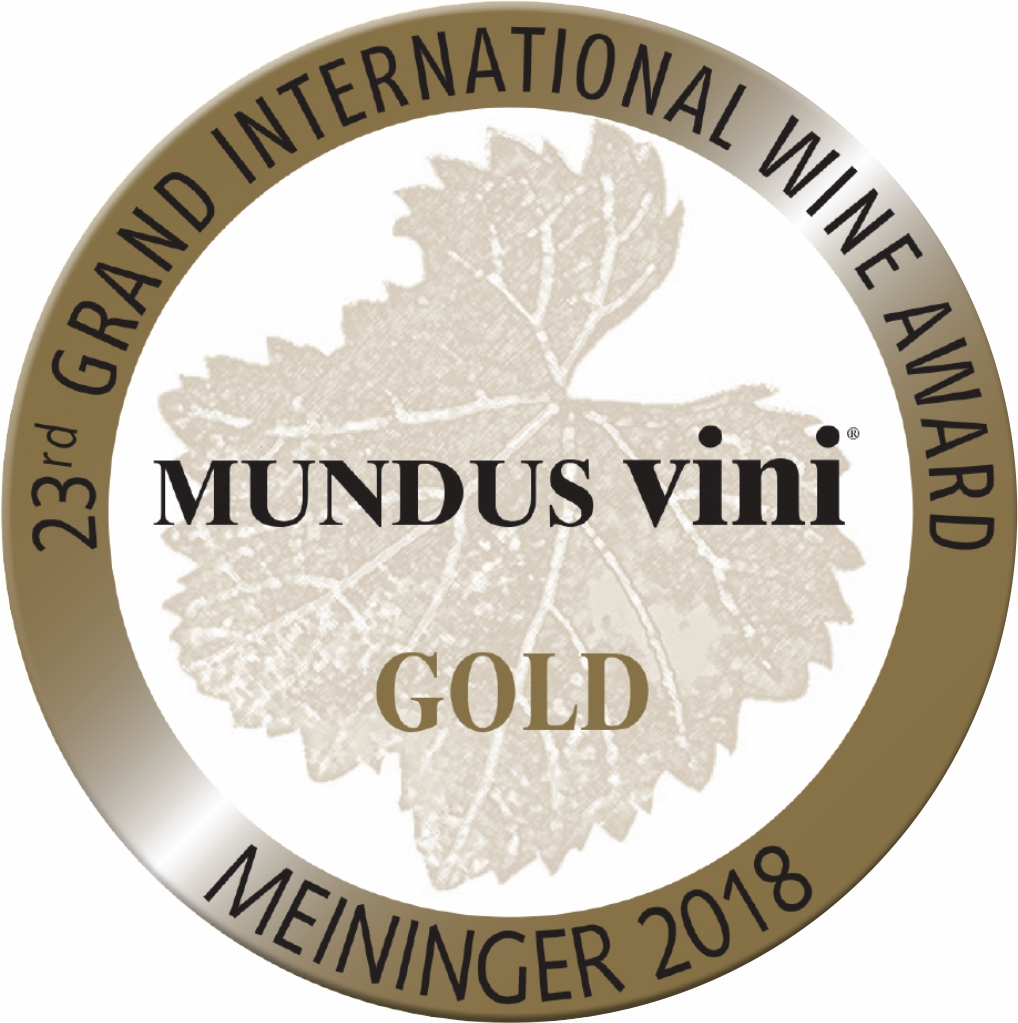 "September 2018: Mundus vini gold medal & ""Best of Show Austria"" for vintage 2017"