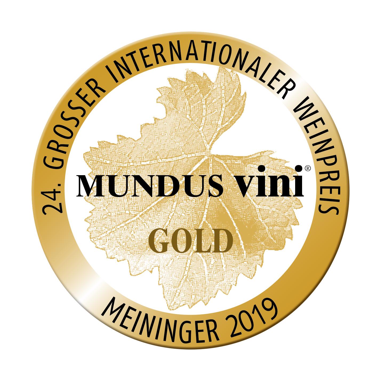 """Februar 2019: Mundus vini Goldmedaille und """"Best of Show Austria red"""" für Jahrgang 2016"""