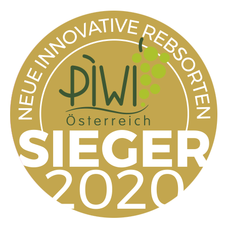 """October 2020: Gold medal category """"Donauriesling"""" at the Austrian PIWI wine award for vintage 2019"""