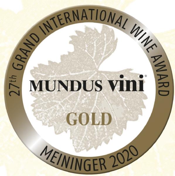 """September 2020: MUNDUS vini GOLDMEDAILLE und """"Best of show Austria"""" für Jahrgang 2019"""