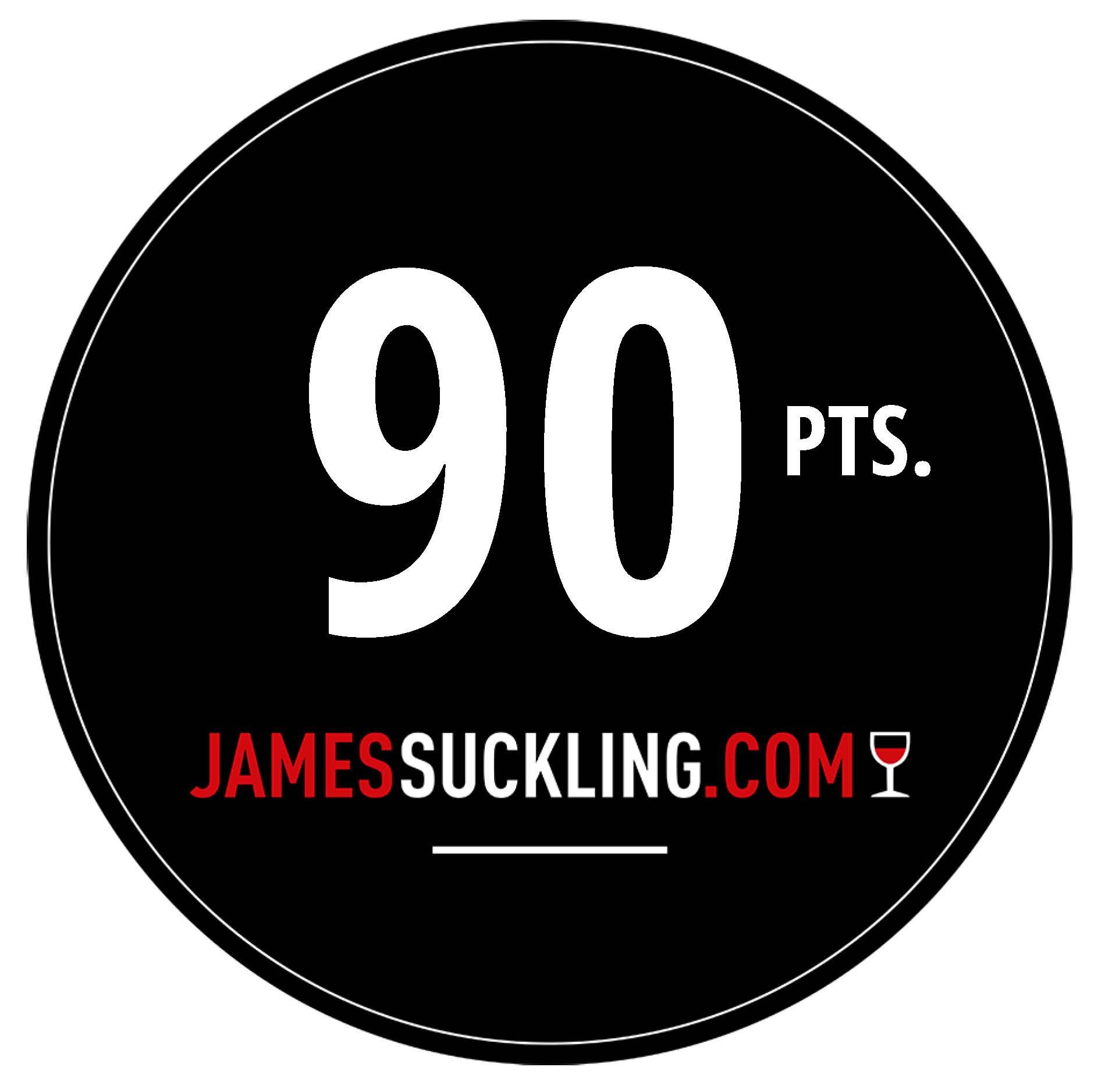 Oktober 2017: 90 Punkte James Suckling für Jahrgang 2016